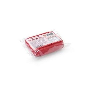 Pâte à modeler Saracino rouge 250g