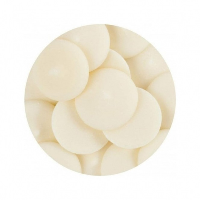 Candy Button - Blanc vanille - PME - 283g