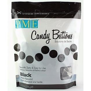 Candy Button - Black - PME - 10oz