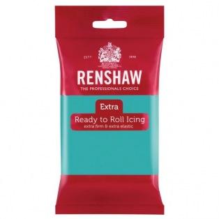 Renshaw Rolled Fondant Extra 250g - Jade Green