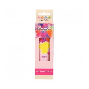 Gel Food Colour - Yellow - FunCakes