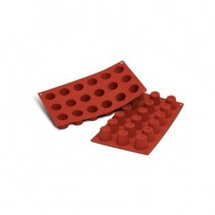 Silicone mold - 18 Mini Cannelés Bordelais