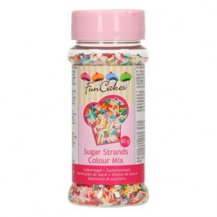 Vermicelles en sucre -multi- 80g- Funcakes