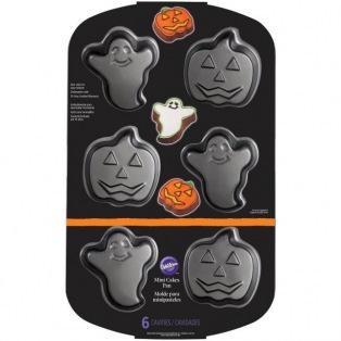 Ghost & Jack-O-Lantern Mini Cake Pan Wilton