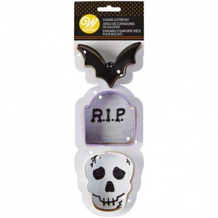 Cookie Cutter Halloween set/3 - Wilton