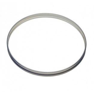 Tart Ring - Stainless Steel -  2cmx20cm