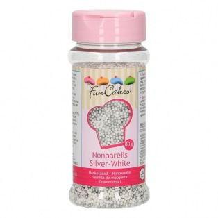 Musketzaad Zilver Wit 80g - Funcakes