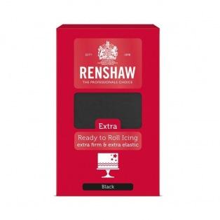 Rollfondant - Black - 1kg- Renshaw Extra