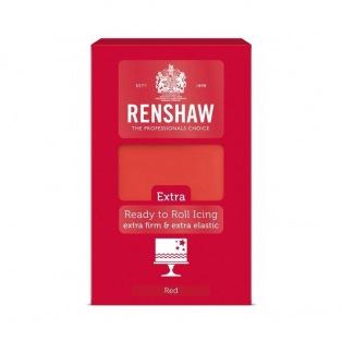 Rollfondant - Red - 1kg- Renshaw Extra