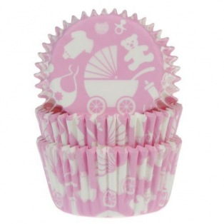 Caissettes Baby Pink - 50 pièces - House of Marie
