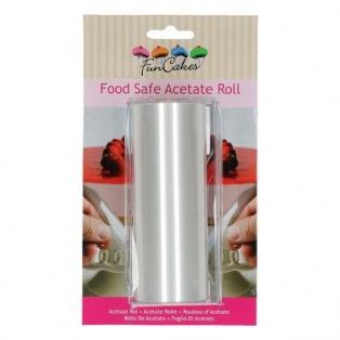 Rouleau d'acétate alimentaire 12cmx20m FunCakes