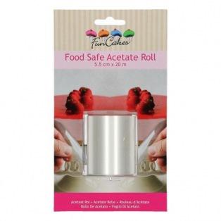 Funcakes Acetate Roll 5,5cmx20m
