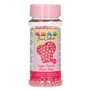 FunCakes Sugarpearls Pearl Pink 80g