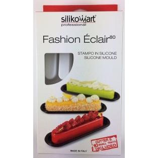 Silicone Mould Fashion éclair 80 - Silikomart Professional