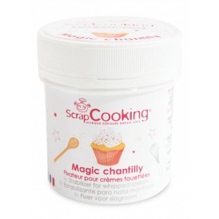 Stabilizer for whipped cream - Scrapcooking