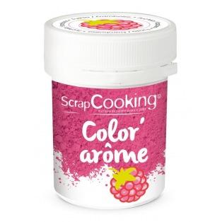 Color'arôme fuschia/framboise 10g - Scrapcooking