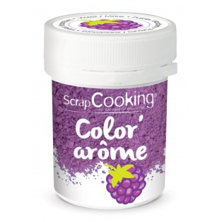 Colouring & Flavoured Mix Purple/Blackberry Scrapcooking 10g