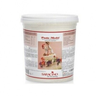 Modelling Sugar Paste White Saracino 1kg