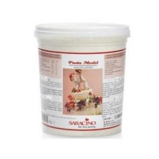 Pâte à modeler Saracino Blanc 1kg