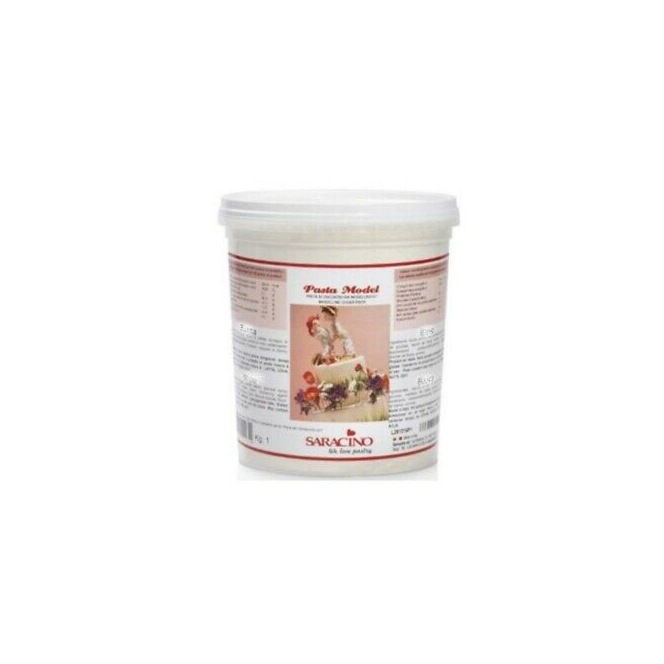 Modelling Sugar Paste White Saracino