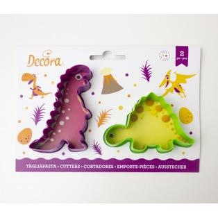Decora - Dinosaur Cutters - 2 pcs