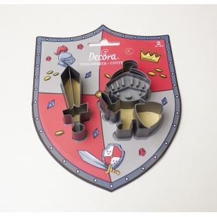 Decora - Emporte-pièce - chevalier 2pcs