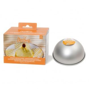 Moule demi-sphère de 10cm - Set de 3pcs Decora