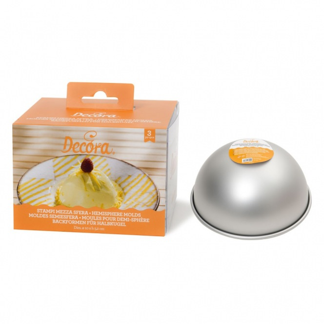 Fat Daddio's ProSeries Ball Pan (Hemisphere) - Ø10cm