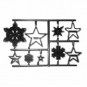 Snowflakes & Stars - Patchwork Cutters