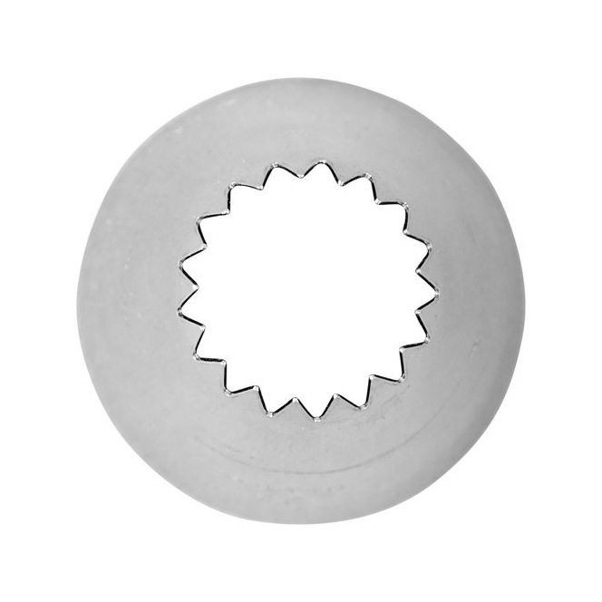 Decorating Tip 8B Open Star Carded - Wilton
