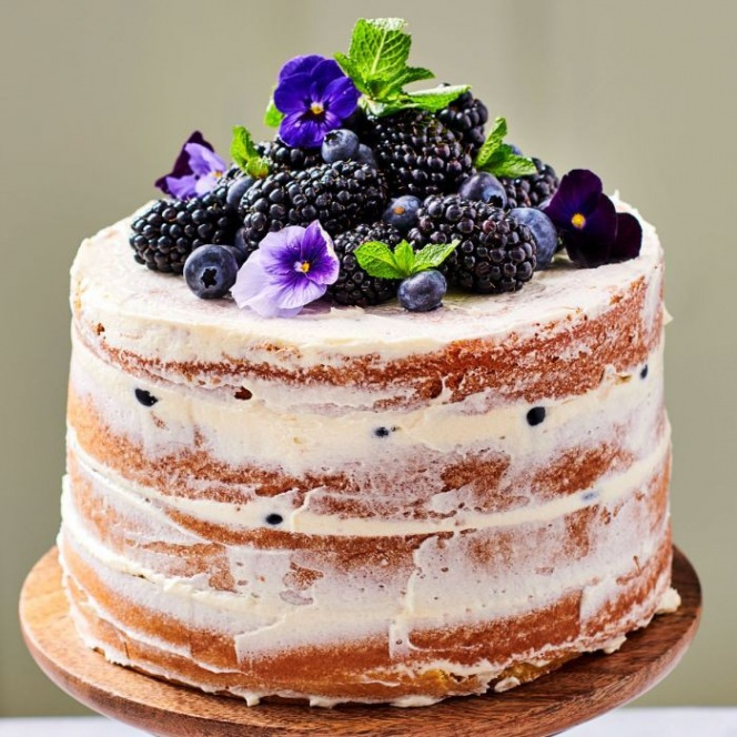Mix For Sponge Cake Lactose Free - Low Sugar 500G - Funcakes