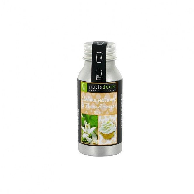 Natural Orange Blossom Flavouring 50 ml - Patisdecor