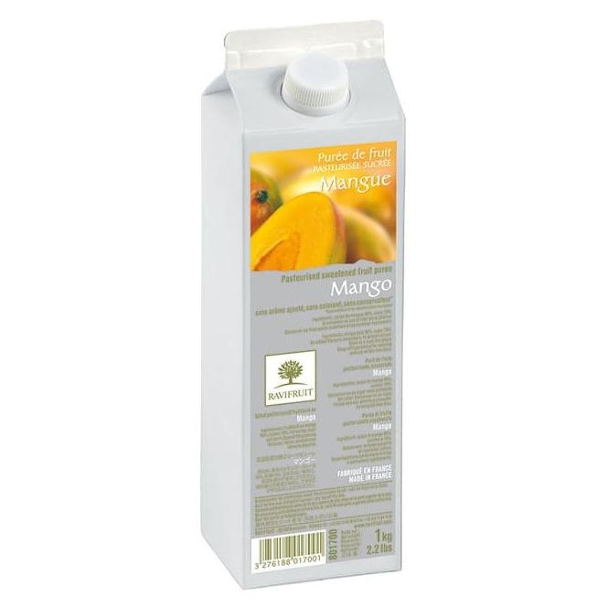 Purée de mangue - 1kg - Ravifruit