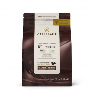Donkere Chocolade Callets 2,5kg -  70-30-38 - Callebaut