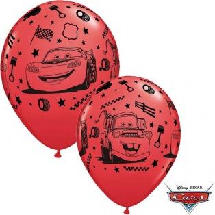 6 Cars Balloons latex