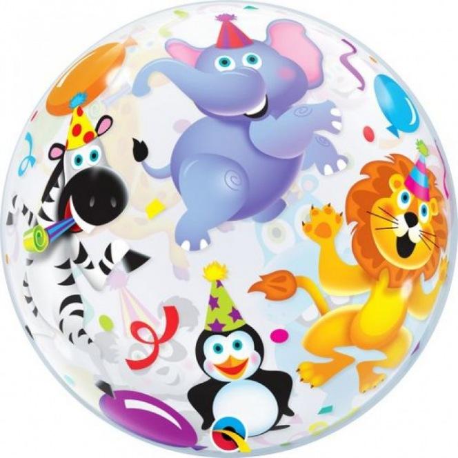 Birthday Animals  Balloon Bubble