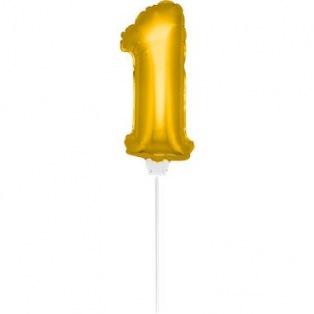 Mini Golden Balloon Number 1