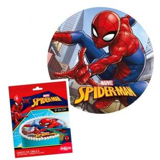 Disque azyme Spiderman Ø20cm Dekora