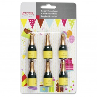 Bougies Champagne 6 pcs - Städter