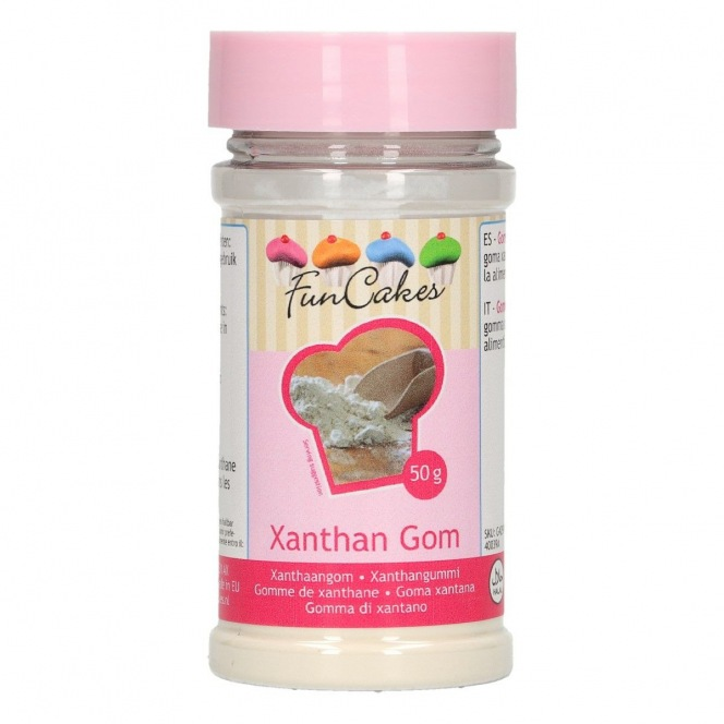 Gomme xanthane 50g - Funcakes