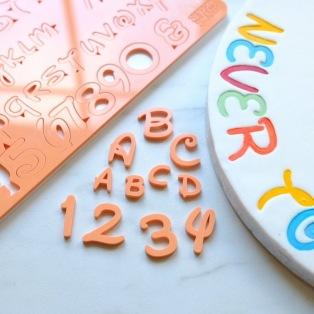 Embossing Set - Letters & Numbers - Sweet Stamp Magical by Amy Cakes