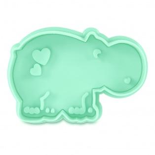 Cutter with Stamp Hippopotamus - Städter