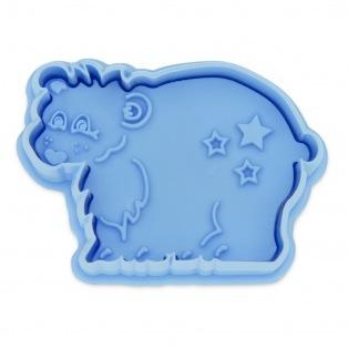 Cutter with Stamp Polar Bear - Städter