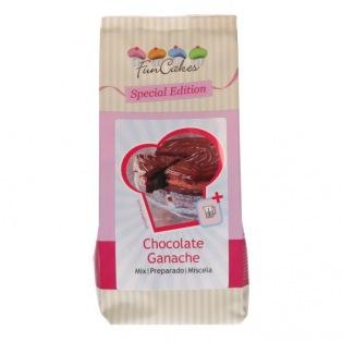 Mix for Chocolate Ganache 400g - Funcakes