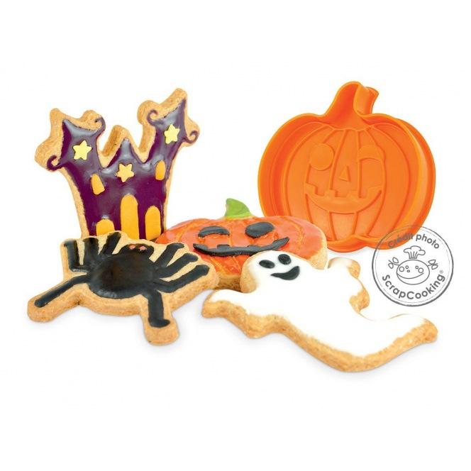 Halloween Plunger Cutter Set - Scrapcooking