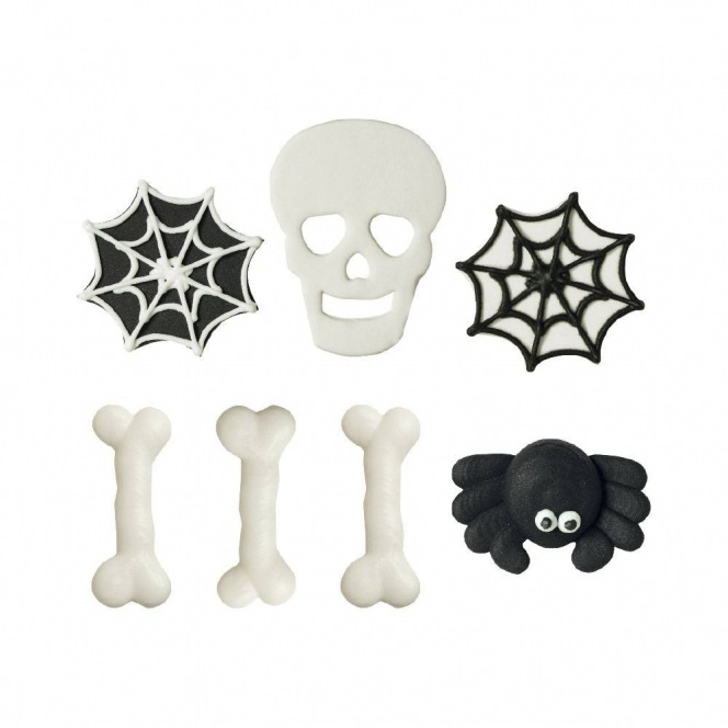 Sugar Decorations - Halloween Fantasy - 6pcs - Decora