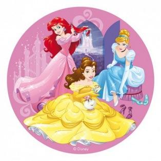Wafer disk Disney princess  - 20cm