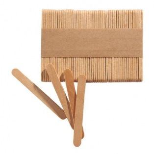 Mini bâtonnets en bois - 100 pc - Silikomart