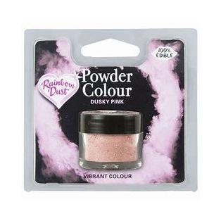 Glanspoeder Dusky Pink Rainbow Dust 4g