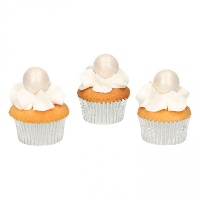 Boules en chocolat x8 - perlé - Funcakes